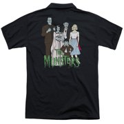 The Munsters The Family (Back Print) Mens Polo Shirt