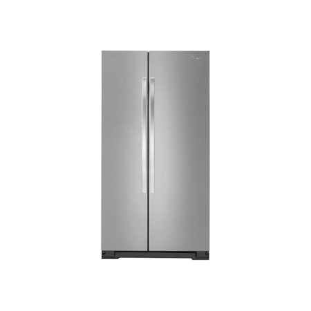 Whirlpool Energy Star 21 7 Cu Ft Side By Side Refrigerator