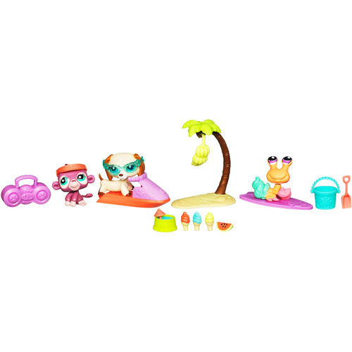 Hasbro Littlest Pet Shop Beach Playpack