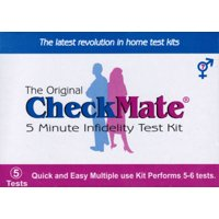 CheckMate Infidelity test kit (Catch a Cheating Spouse)