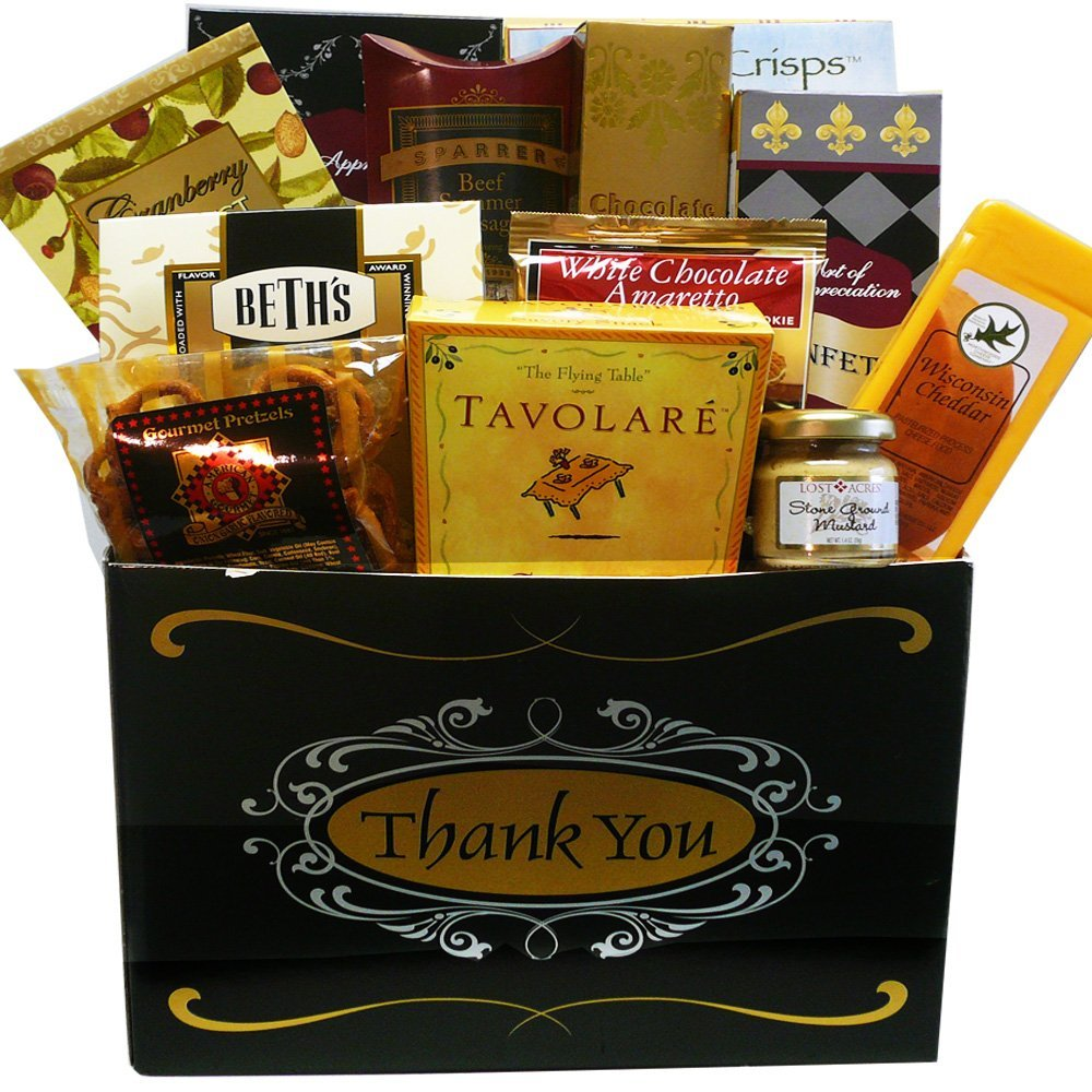 great appreciation thank you care package gourmet food gift box