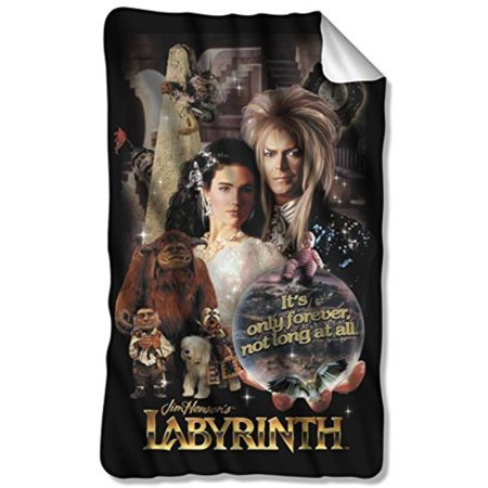 - Labyrinth Family Fantasy Adventure 1986 Movie Fleece Blanket Multi Color