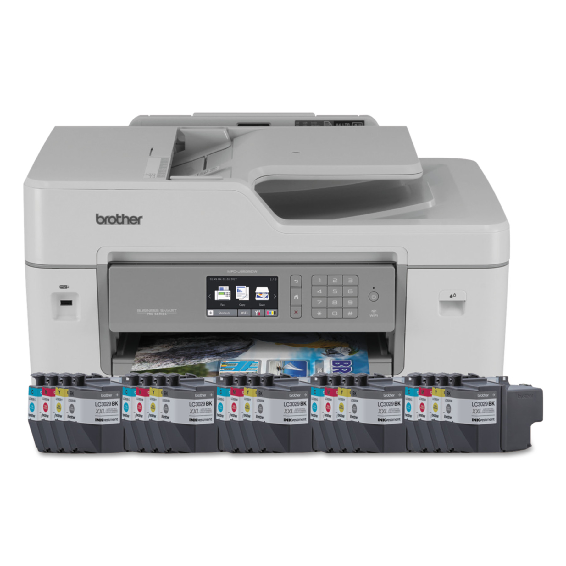 Brother MFC-J6535DWXL Business Smart Printer Pro, Copy; Fax; Print; Scan by Brother