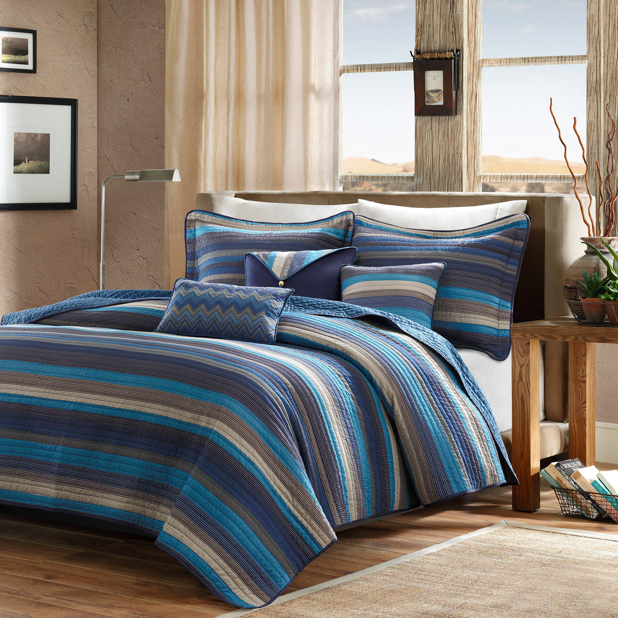 Home Essence Reyes Quilted Bedding Coverlet Set by E & E CO LTD