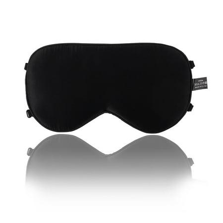 35097f1d798 Adjustable Strap Natural Pure Silk Sleep Mask Blindfold Smooth Eye Mask -  image 1 of 1 ...