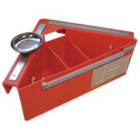 Aerial Tool Bin 21, Tool Organizer, For Aerial Platforms, Scissors and Boom Lifts, Orange, ATB1312