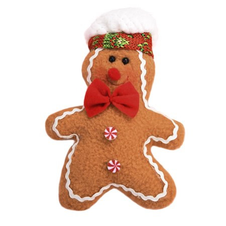 Christmas Tree Hanging Gingerbread Man Ornaments Doll Xmas Home Hang Pendant ()