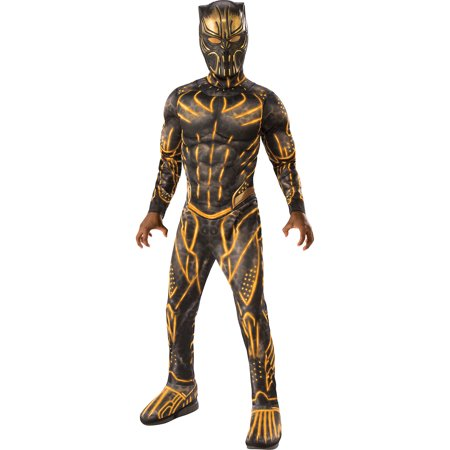 Sin City 2 Halloween Costumes (Party City Costume Erik Killmonger Black Panther Halloween Costume for Boys with Included)