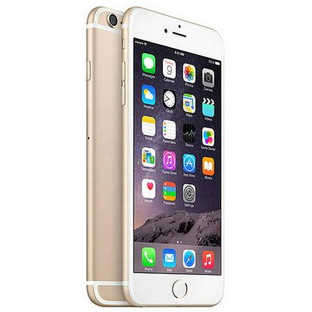 499d7f9a0c9 Refurbished Apple iPhone 6 Plus 16GB, Gold - Locked Verizon Wireless -  Walmart.com