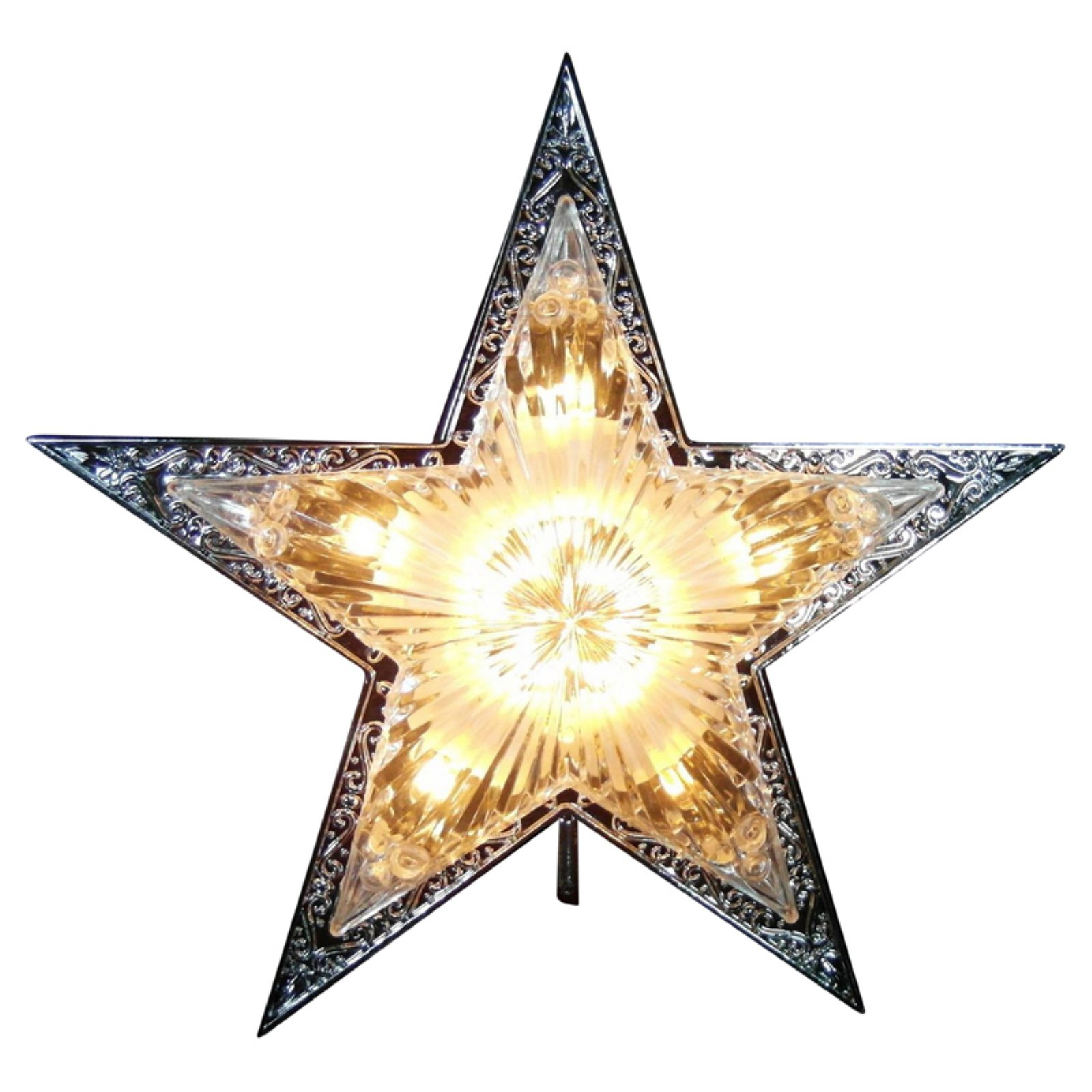 Northlight 10 in. Lighted Star Christmas Tree Topper
