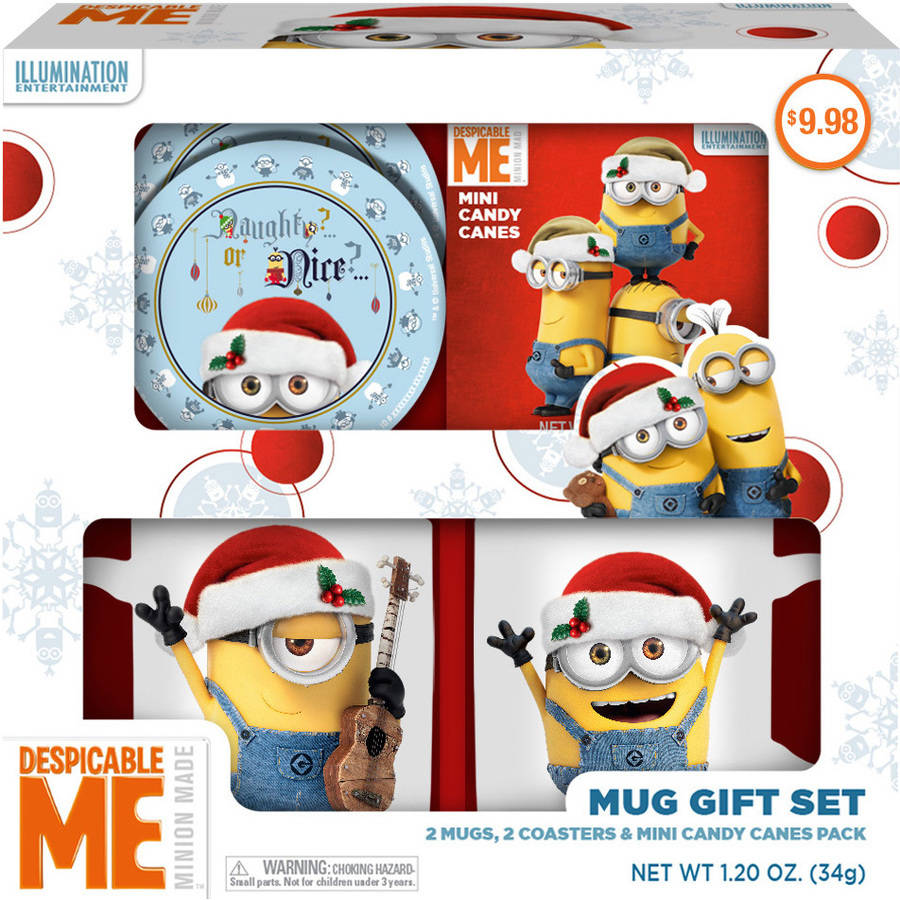 Despicable Me Minion Mug Holiday Gift Set, 5 pc