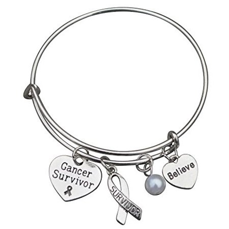 Cancer Survivor Bracelet, Cancer Awareness, Makes the Perfect Cancer Survivor Gift