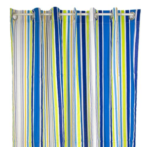 Pam Grace Creations Rockstar Stripe Shower Curtain