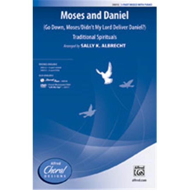 Alfred 00-38014 MOSES AND DANIEL-STRX CD by Alfred