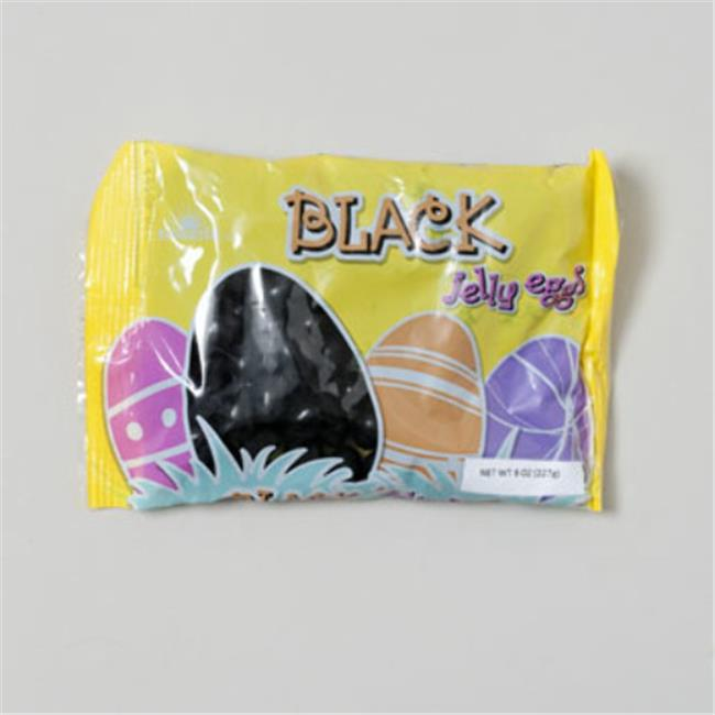 DDI 1940133 Easter Candy Sunrise Black Jelly Eggs Case of 28