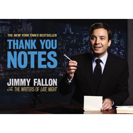 Thank You Notes - Jimmy Fallon Thank You Halloween
