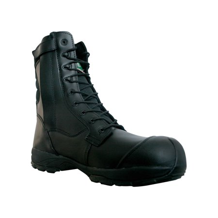 f662a3ed0bb Dawgs Men's 8-inch Side Zip Ultralite Comfort Pro Safety Boots