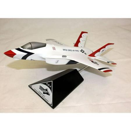 Daron Worldwide Lockheed Martin F 35A Jsf Thunderbird Model Airplane