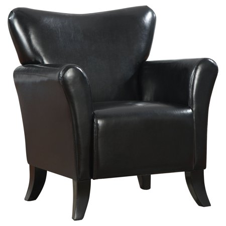 Coaster Upholstery Leatherette Accent Chair, (Leatherette Accent)