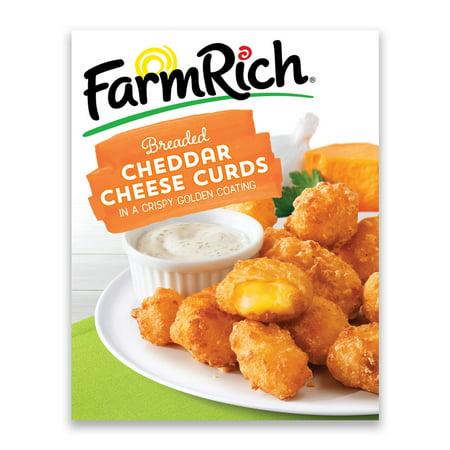 Farm RichR Breaded Cheddar Cheese Curds 16 Oz Box