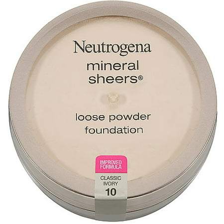 Pur Minerals Sheer (Neutrogena Mineral Sheers Loose Powder Foundation, Classic Ivory [10] 0.19 oz )