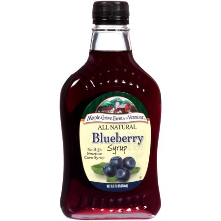 ... Farms of Vermont All Natural Blueberry Syrup, 8.5 fl oz - Walmart.com