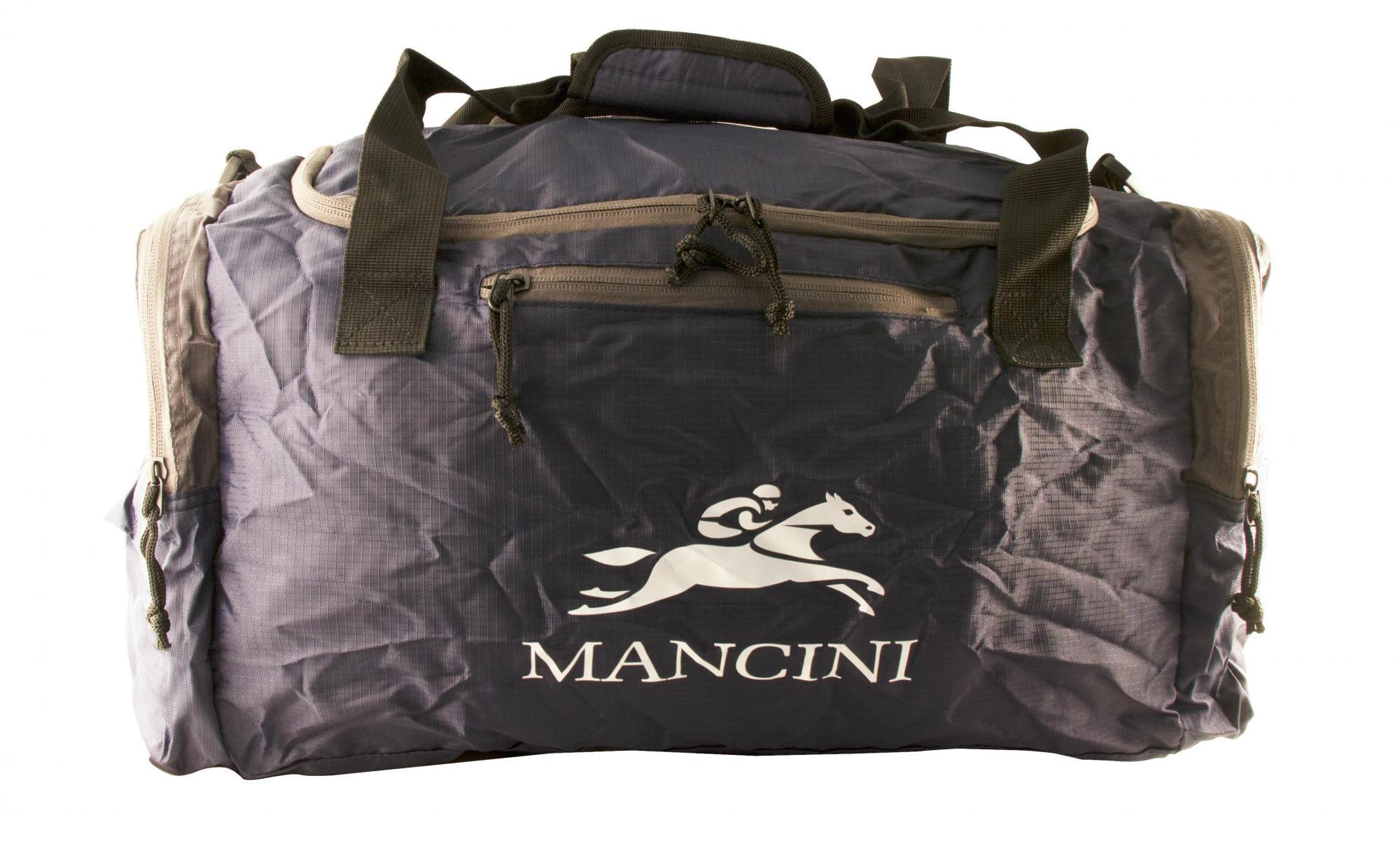 Mancini Pack'Em In Travel Packable Duffle Bag by Mancini