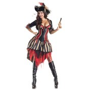 Adult Pirate Body Shaper Costume by Party King PK141 by Party King
