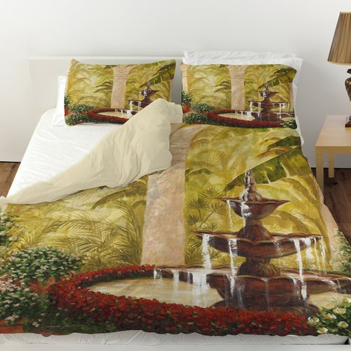 Manual Woodworkers & Weavers Palm Garden II Duvet Cover