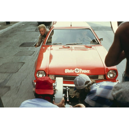 Halloween 5 Car Chase Scene (The Blues Brothers filming scene of 1977 Ford Pinto Wagon car chase 24x36)