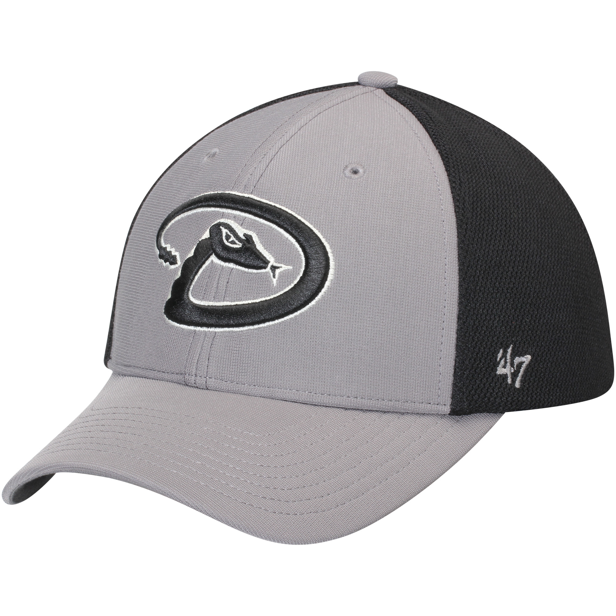 Arizona Diamondbacks '47 Talis MVP Adjustable Hat - Dark Gray/Black - OSFA