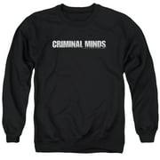 Criminal Minds Logo Mens Crewneck Sweatshirt