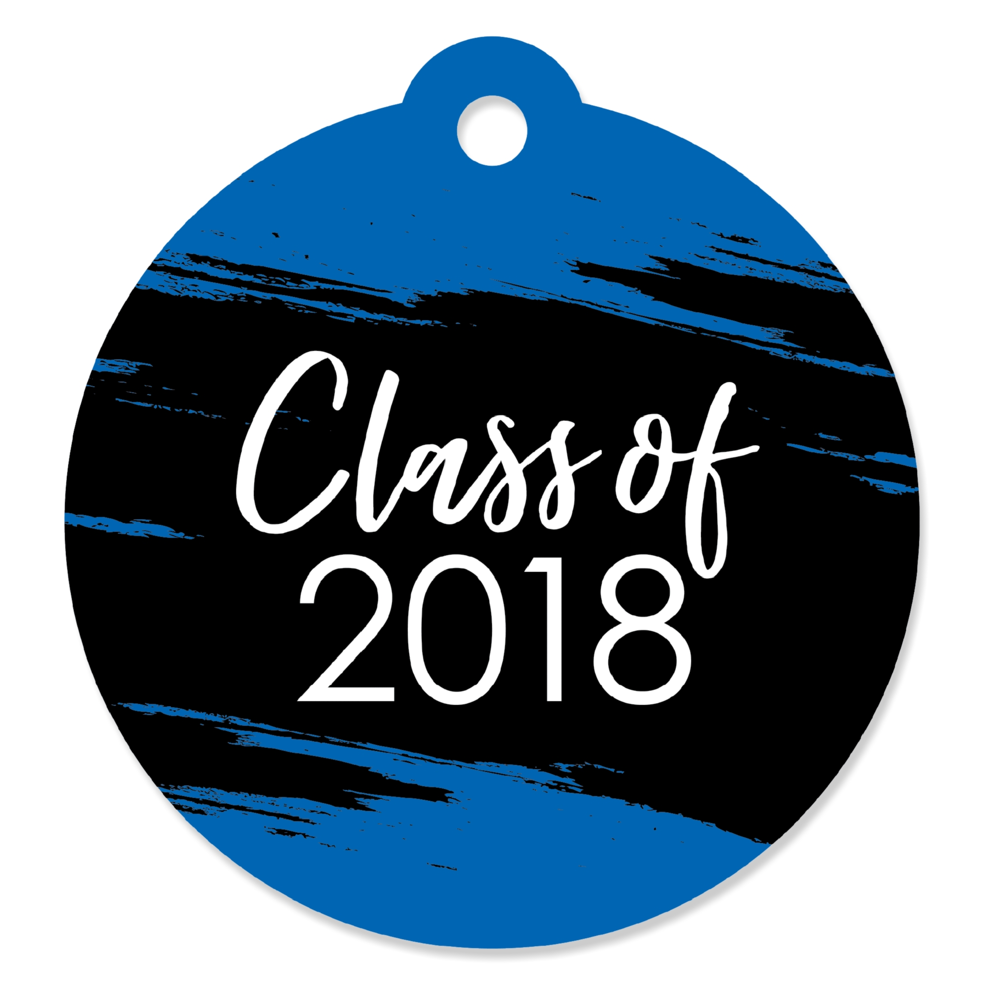 Blue Grad - Best is Yet to Come - Royal Blue 2019 Graduation Party Favor Gift Tags (Set of 20)