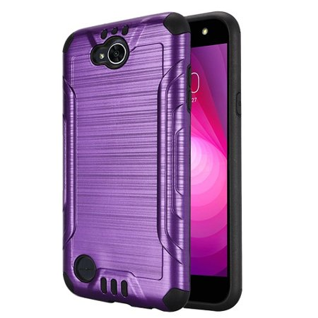best service ce4fa de535 LG X Power 2 Case, LG X Charge (Cricket Wireless) Case, LG K10 Power Case,  Phone Case For Straight Talk LG Fiesta 4G LTE Metallic Brush Finish Cover  ...