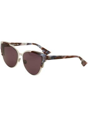 91c96436a748e Product Image Christian Dior Women s Wildly Dior S P71 C6  Havana White Silver Sunglasses