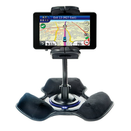 Car / Truck Vehicle Holder Mounting System for Garmin Nuvi 3790T 3790LMT Includes Unique Flexible Windshield Suction and Universal Dashboard Mount Opt