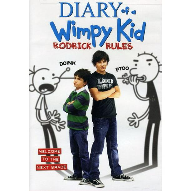 Diary Of A Wimpy Kid Rodrick Rules Dvd Walmart Com Walmart Com