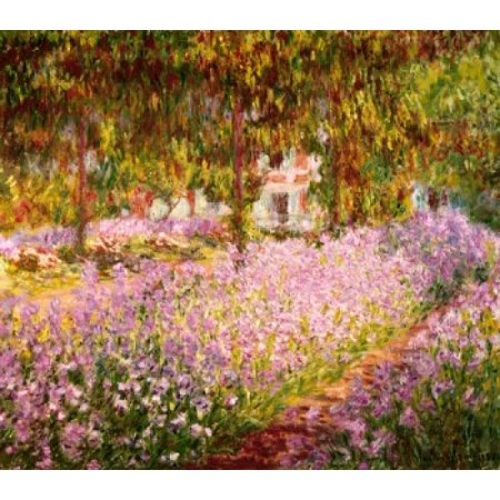 The Garden at Giverny  1900 Claude Monet Musee d Orsay Paris Poster Print