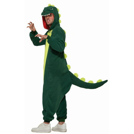 Halloween One Piece Dinosaur Adult Costume - Dinosaurs Halloween Costumes