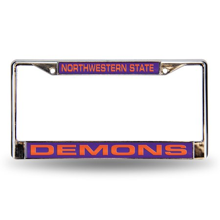 Northwestern State Demons NCAA Laser Chrome Frame ()