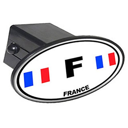 F France Country Euro Auto Oval 2