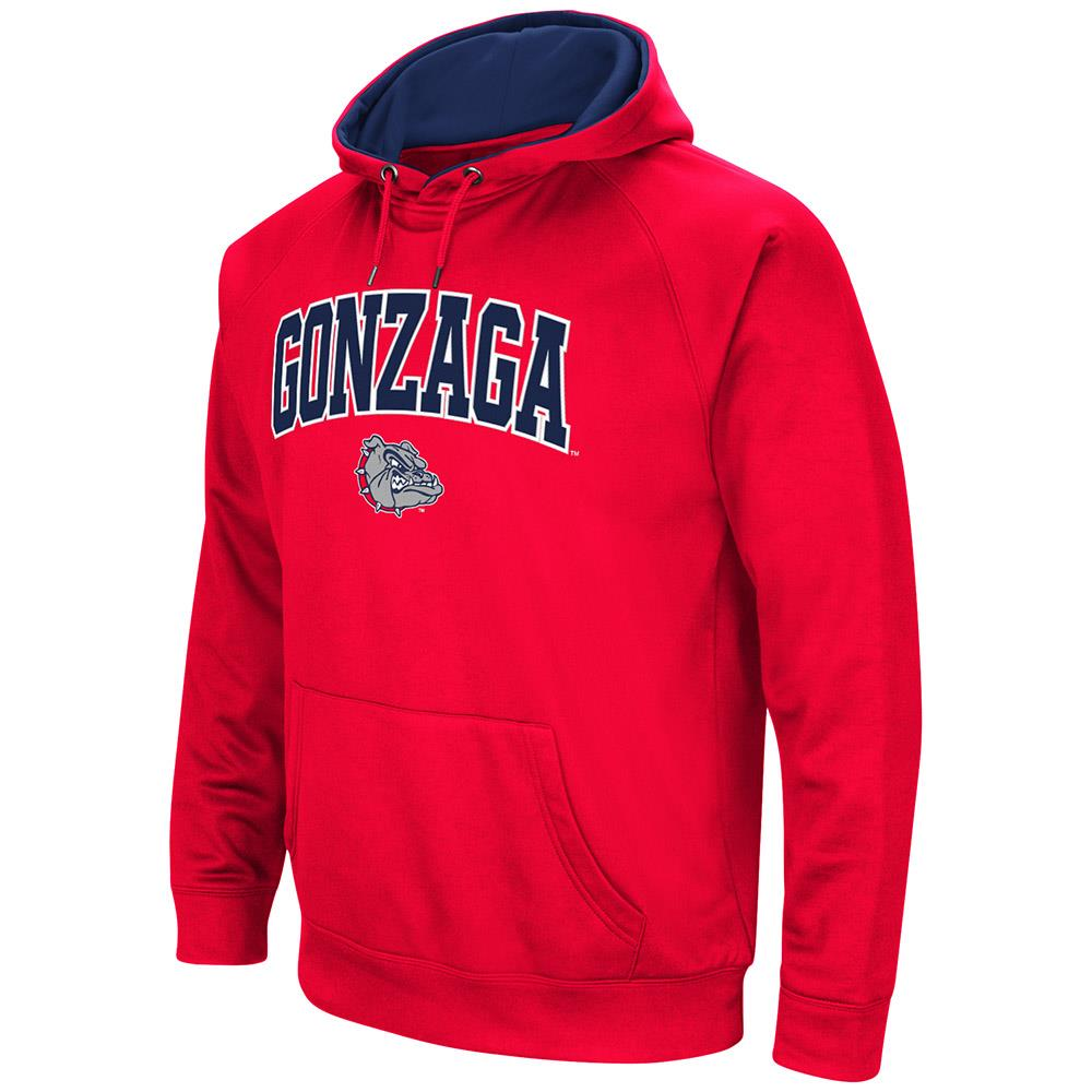 Mens NCAA Gonzaga Bulldogs Fleece Pull-over Hoodie by Colosseum