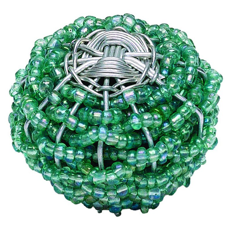 Atlas Homewares Bollywood Collection Beaded Weave Round Cabinet Knob