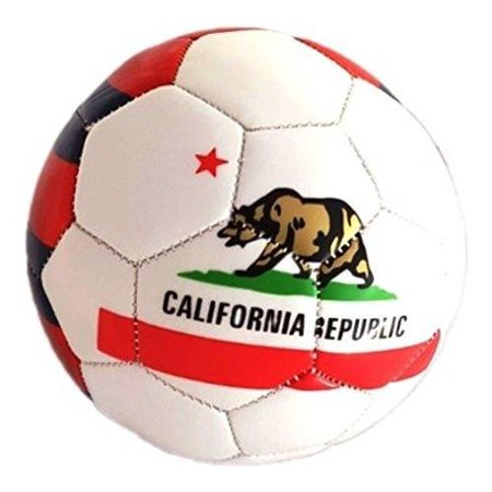 UTA California Mini Soccer Ball (Free Bungee Ball Net) (California) (Germany Mini Soccer Ball)