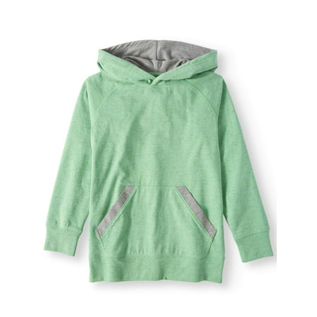 Wonder Nation Long Sleeve Pull Over Hoodie (Little Boys, Big Boys, & Husky)