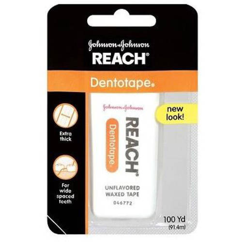 Reach Dentotape Extra Wide Unflavored Dental Floss,100 yd
