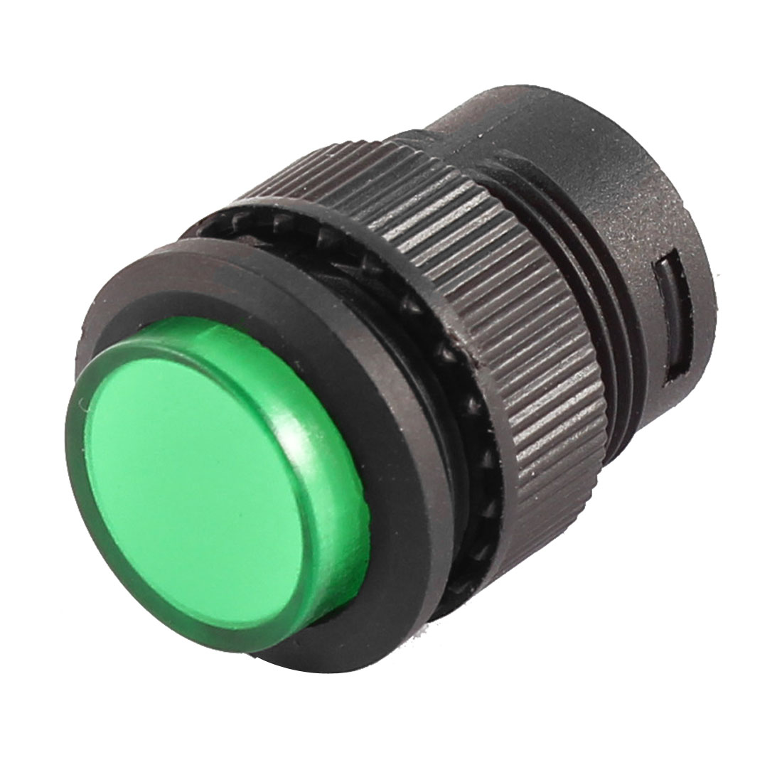 125V/3A 250V/1.5A SPST OFF-(ON) Green Momentary Push Button Switch - image 1 of 3