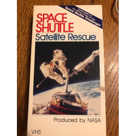 Space Shutle Satellite Rescue VHS Tape Ships N 24h - Space Vbs
