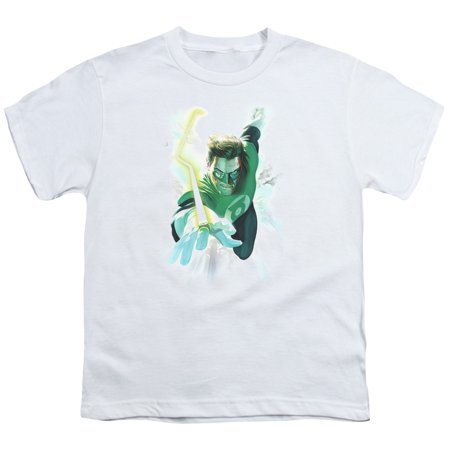 Green Lantern Clouds Big Boys Youth Shirt