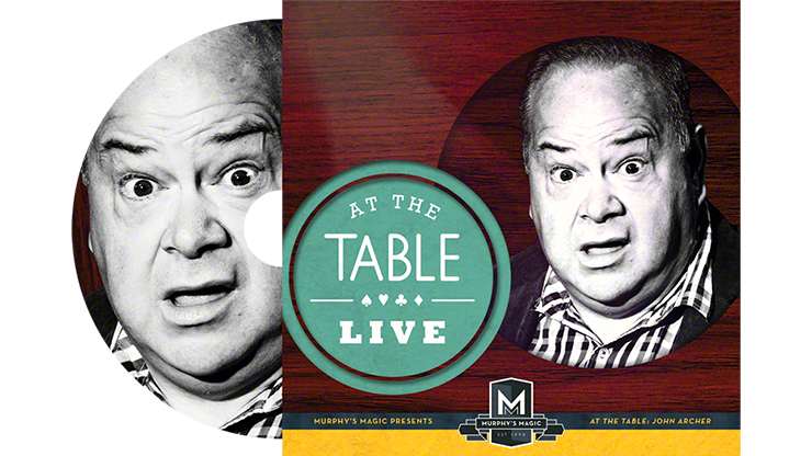 At the Table Live Lecture John Archer DVD by